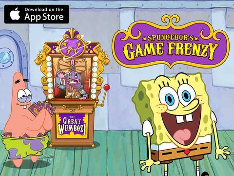 SpongeBob Game Frenzy