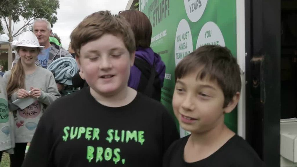 SLIME CUP MELBOURNE AUDITIONS   Nickelodeon