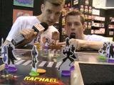 Toy Fair: Luke and Wyatt test out a Turtles Game!