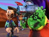 """Planet Sheen: """"Washing My Sheen: Penguin Slides"""""""