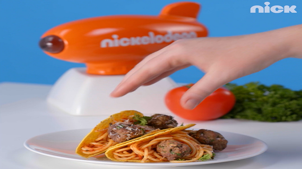 Icarly Tiny Kitchen Spaghetti Tacos Nickelodeon
