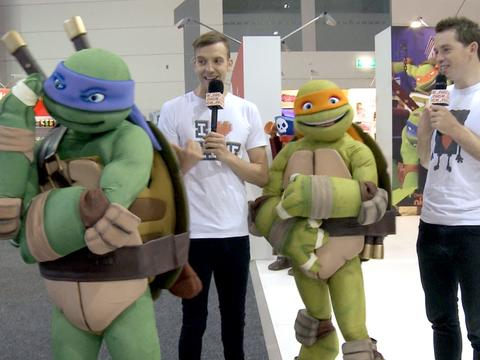 Toy Fair 2013: Move in with the Turtles!