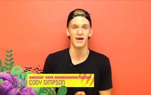 Cody Simpson Wins Aussies' Fave Homegrown Talent!