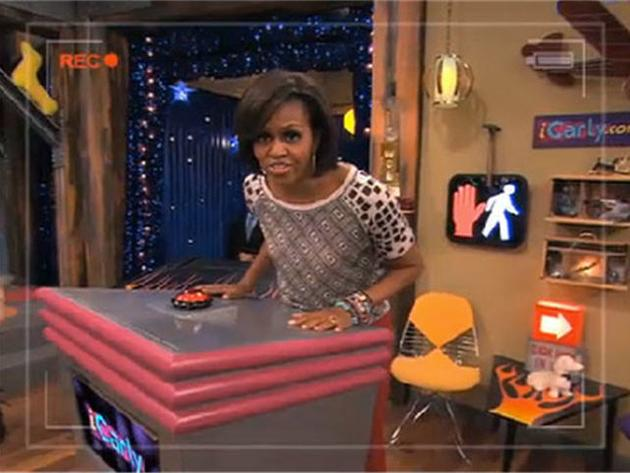 Gibby and Michelle Obama