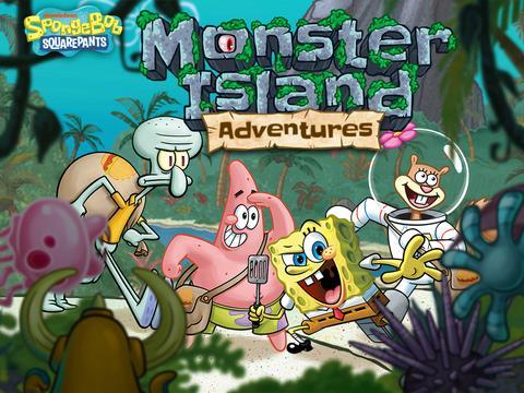 Sünger Bob: Canavar Adası Maceraları