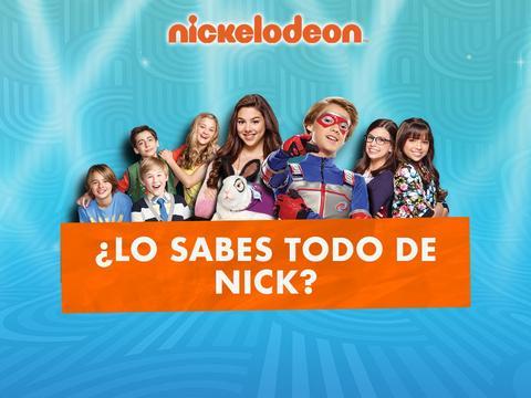 ¿Lo sabes todo de Nick?