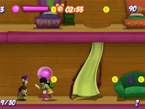 Arcade FanBoy y Chum Chum