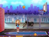 El partido de baloncesto de Sam