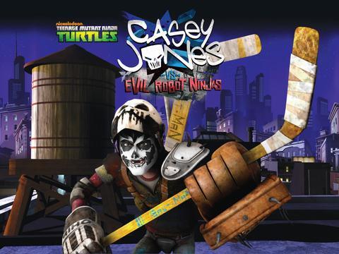 TMNT: Casey Jones vs Evil Robot Ninjas