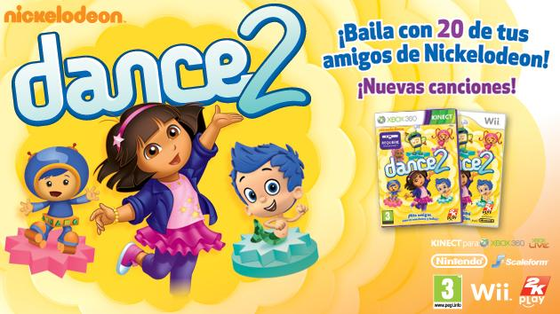 Nickelodeon Dance 2 para Wii y Kinect™ de Xbox 360®
