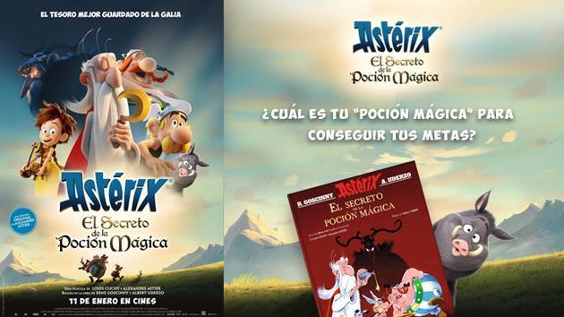 ¡Consigue un libro con Asterix!