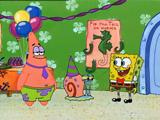 Fiesta en casa de Bob - Episodio Completo - Bob Esponja