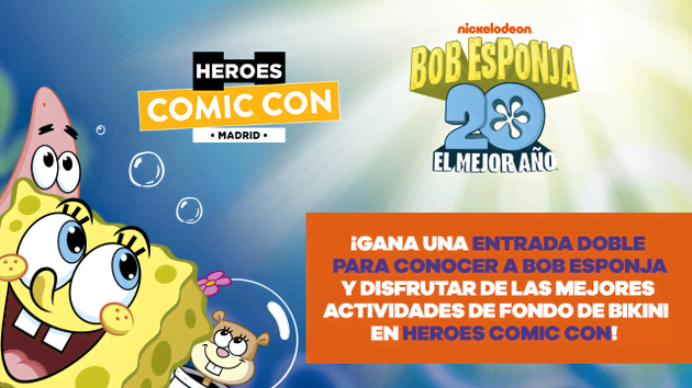 ¡Gana una entrada doble para Heroes Comic Con!