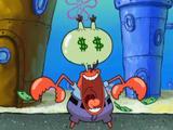 "Bob Esponja: ""El Sr. Cangrejo ama el dinero"""