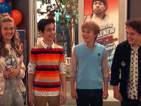 La fila - Nicky, Ricky, Dicky y Dawn