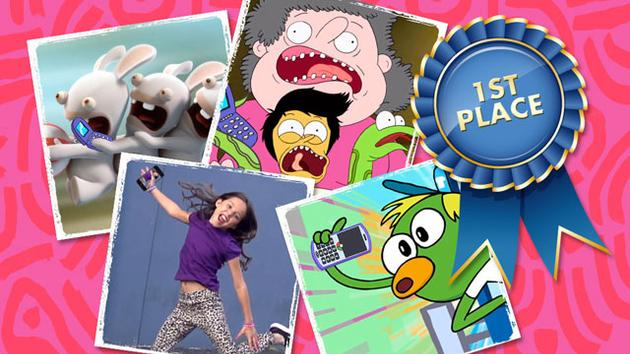 "LOS ""SELFIE AWARDS"" DE NICKELODEON"