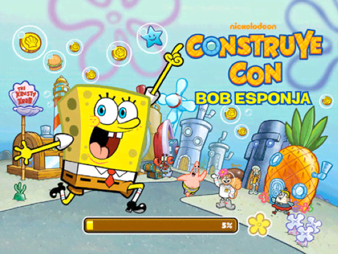 Construye con bob Esponja