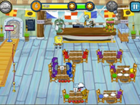Sponge Bob Dinner Dash