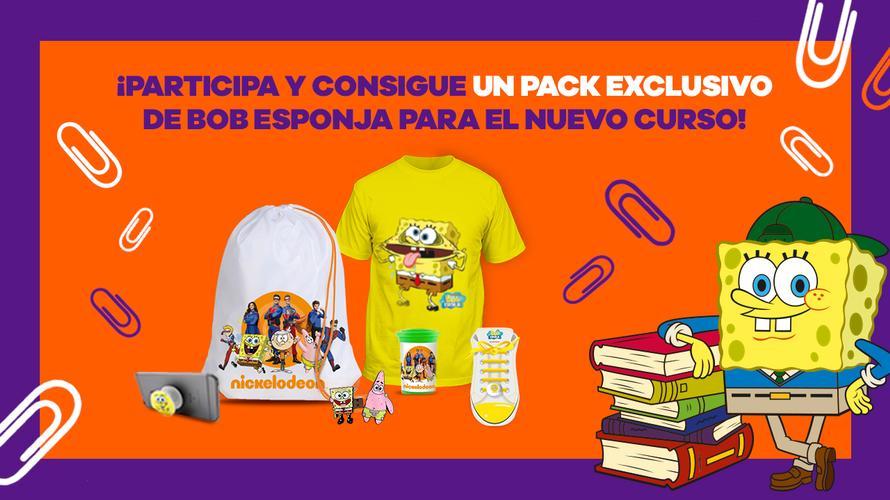 - FINALIZADO - ¡Participa y gana un pack exclusivo de Bob Esponja!