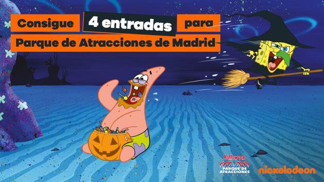 - FINALIZADO - ¡Gana entradas para Parque de Atracciones de Madrid y disfruta en familia de la temporada más terrorífica del año!