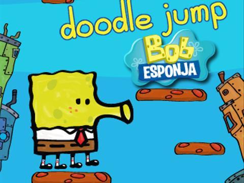 Bob Esponja Doodle Jump