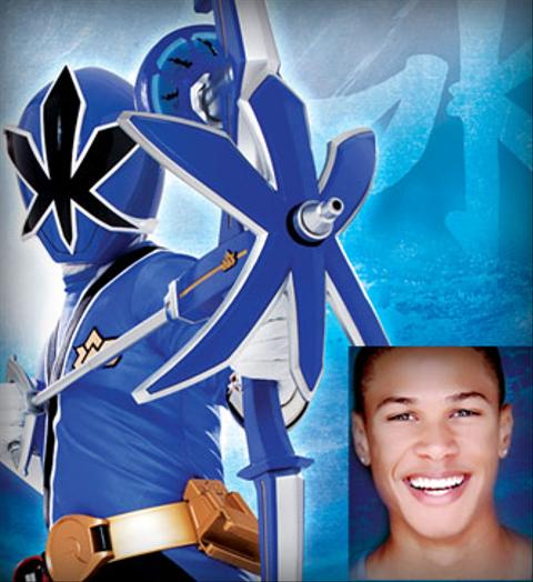 Power Ranger Azul