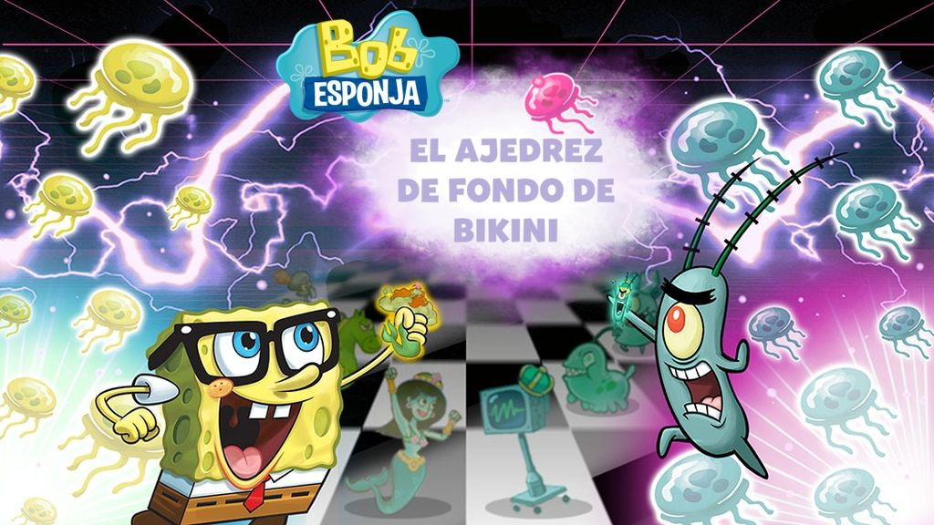 Spongebob Strategy Game Chess Squarepants Bikini Bottom 0wX8OPkNn