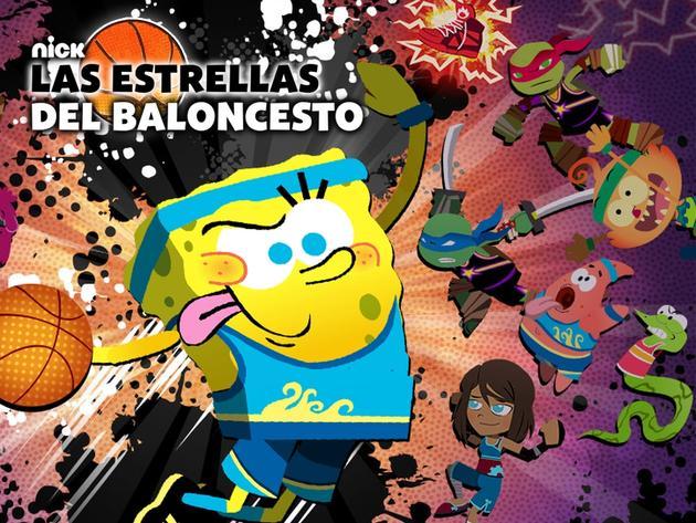 Nickelodeon Basketball Stars Sports Game