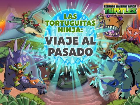 Las Tortuguitas Ninja: Viaje al pasado