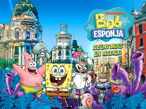 Bob Esponja Aventuras en Madrid - ¡Descarga tu Guía de Madrid!