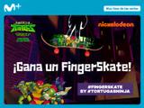 ¡Gana un finger skate de El Ascenso de las Tortugas Ninja!
