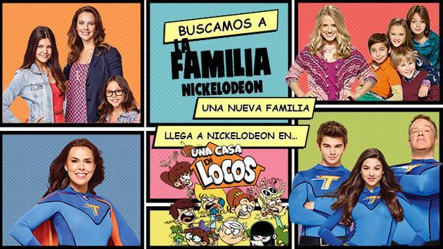 BUSCAMOS A LA FAMILIA NICKELODEON