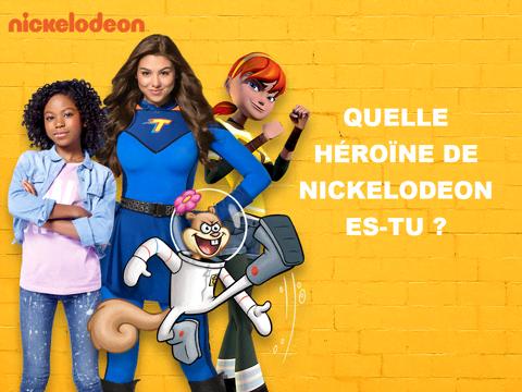 Quelle héroïne de Nickelodeon es-tu ?