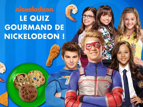 Le quiz gourmand de Nickelodeon
