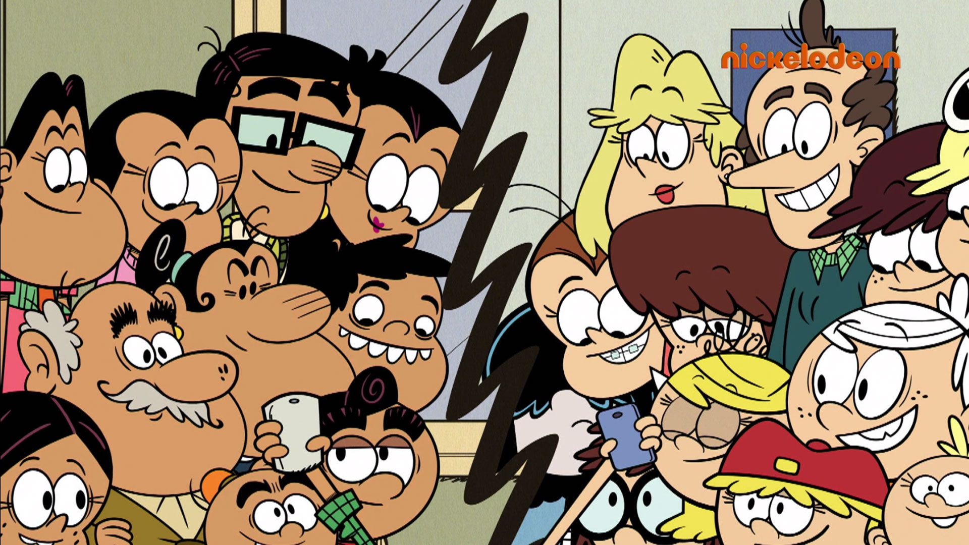 Bienvenue Dans Nos Familles Video Bienvenue Chez Les Loud Nickelodeon Nickelodeon