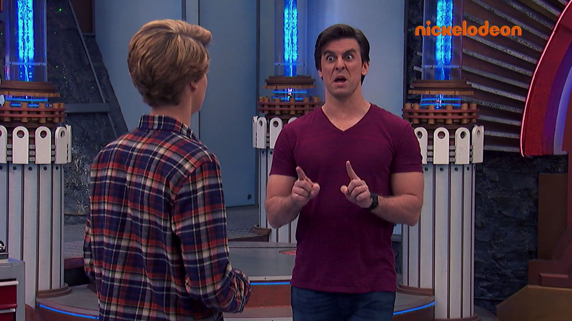Coloriage A Imprimer Henry Danger.Brad L Invisible Nickelodeon