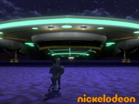 Débarquement - Monstres contre Aliens