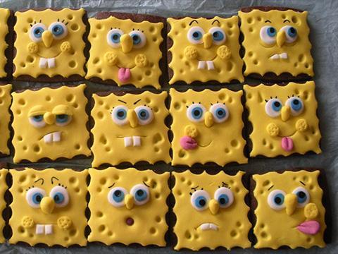 Mâncăruri inspirate din lumea lui SpongeBob
