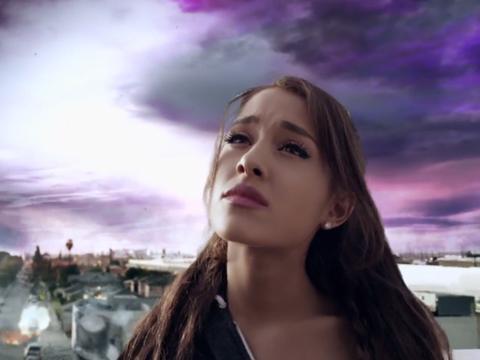 Ariana Grande világvégés klipet készített