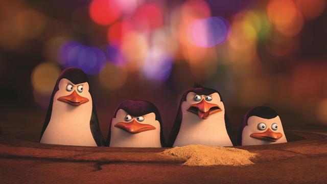 Madagaszkár pingvinjei nyereményjáték