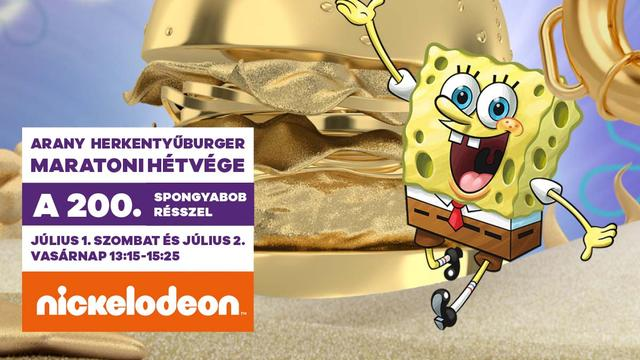Így ünnepli a 200. epizódját SpongyaBob