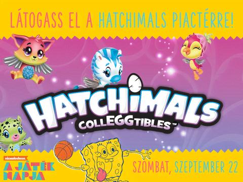 Hatchimals A játék napján!