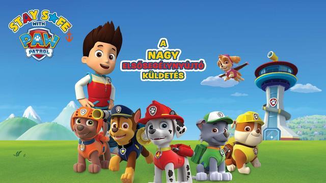 Elsősegélyt tanít a Nickelodeon és a Magyar Vöröskereszt
