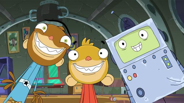 Űrmajmok és galaktikus kalandok a Nickelodeonon