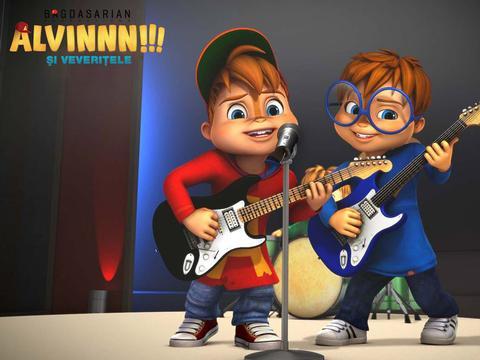 ALVINNN!!! şi veveriţele: Cele mai bune hituri