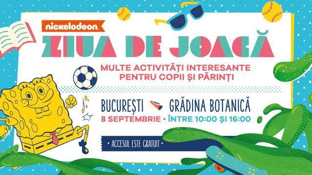 Ziua de Joacă cu Nickelodeon România