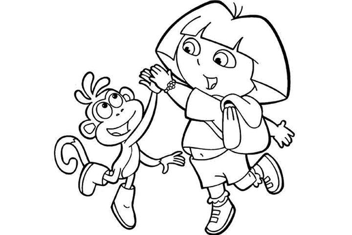Drake & josh coloring pages ~ Színezz Dórával!