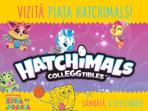 Hatchimals la Ziua de Joacă