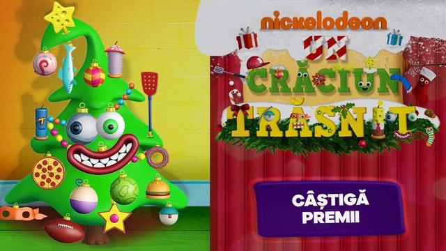 Nickelodeon dă startul competiției Un Crăciun Trăsnit