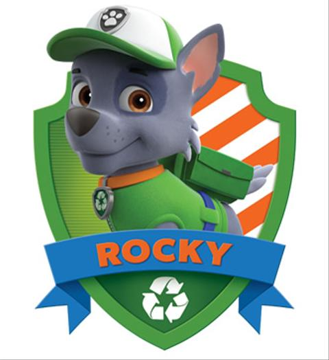 Rocky From Paw Patrol Nickelodeon Africa